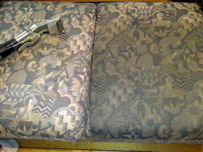 Half Cleaned Sofa